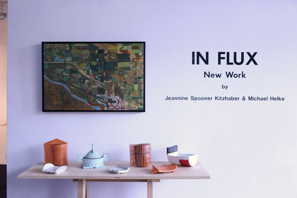 In Flux: Art by Jeannine Spooner Kitzhaber and Michael Helke